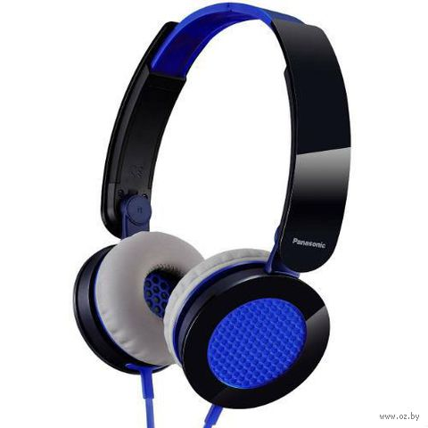 Гарнитура Panasonic RP-HXS200ME-A (синяя) — фото, картинка