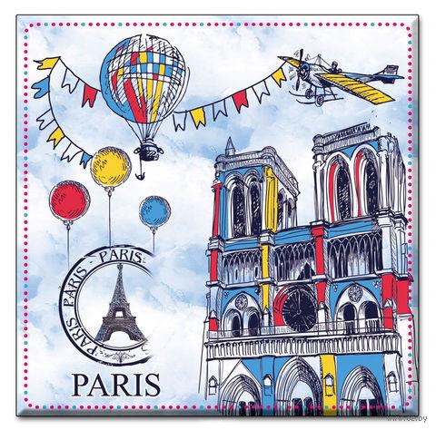 "Подставка под кружку ""Paris"" (43424/12) — фото, картинка"