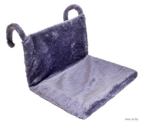 Гамак для кошек (43х32х20 см; серый) — фото, картинка