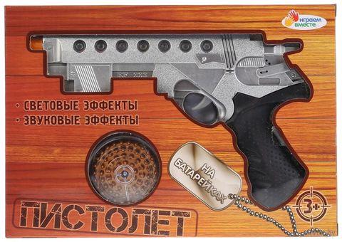 Пистолет (со световыми и звуковыми эффектами; арт. 1107G440-R) — фото, картинка