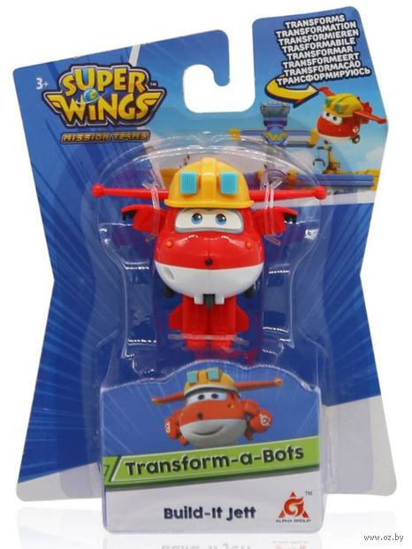 "Робот ""Мини-трансформер Джетт"" (арт. EU730011) — фото, картинка"