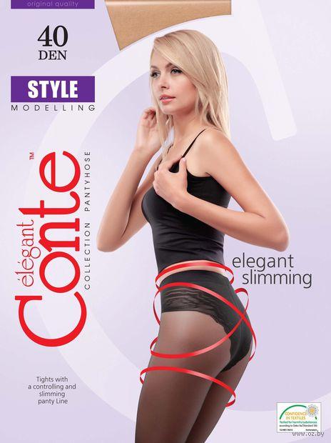 """Колготки женские корректирующие """"Conte. Style 40"""" — фото, картинка"""