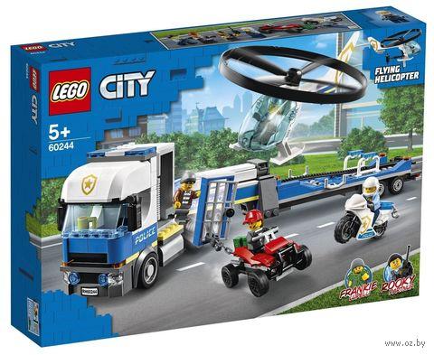 """LEGO City """"Полицейский вертолётный транспорт"""" — фото, картинка"""
