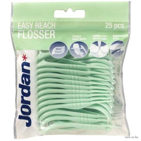 """Зубная нить """"Jordan. Easy Reach"""" (25 м) — фото, картинка"""