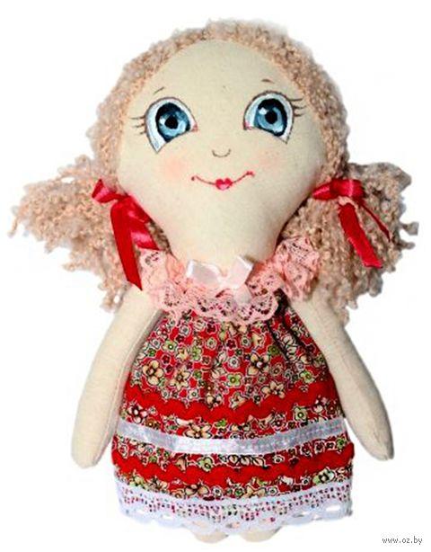 """Набор для шитья из ткани """"Кукла. Анечка"""""""