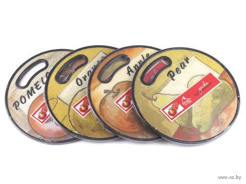Доска разделочная пластмассовая (30х1,2 см; арт. HH3030)
