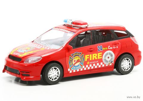 """Машинка инерционная """"Fire"""" — фото, картинка"""