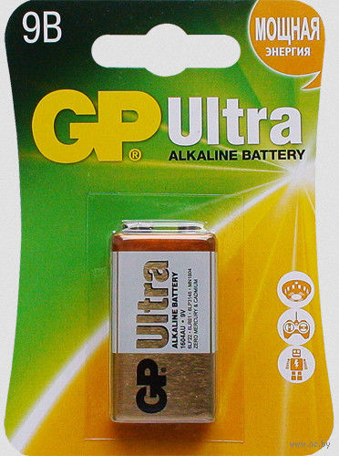 Батарейка алкалиновая GP Ultra 6LF22 1BP