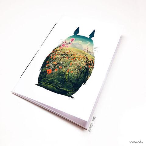 """Блокнот """"Тоторо"""" (А5; арт. 742) — фото, картинка"""