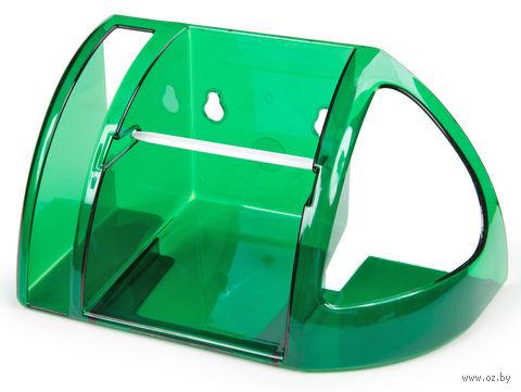 Полка для туалета (зеленый полупрозрачный) — фото, картинка