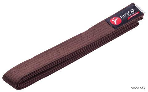Пояс для единоборств (280 см; коричневый) — фото, картинка