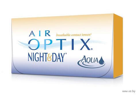 """Контактные линзы """"Air Optix Night and Day Aqua"""" (1 линза; -8,5 дптр) — фото, картинка"""
