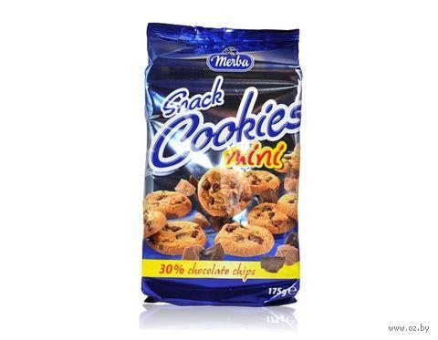 """Мини-печенье """"Merba. Два шоколада"""" (175 г) — фото, картинка"""
