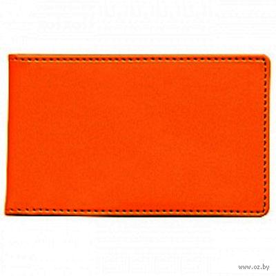 """Футляр для кредитных карт Time/System """"Skiver"""" (orange)"""