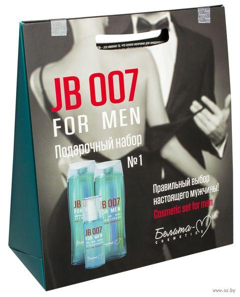 """Подарочный набор """"JB 007 For Men"""" (шампунь, 2 геля) — фото, картинка"""