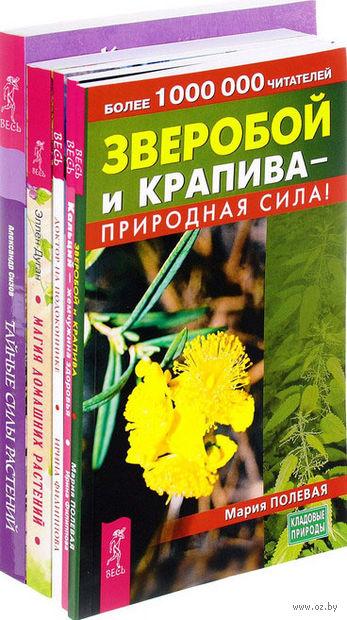 Зверобой и крапива. Кальций. Доктор на подоконнике. Магия домашних растений. Тайные силы (комплект из 5 книг) — фото, картинка