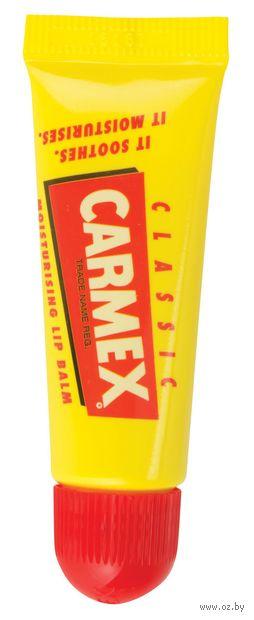 """Бальзам для губ """"Carmex Lip Balm Classic"""", тон: прозрачный — фото, картинка"""