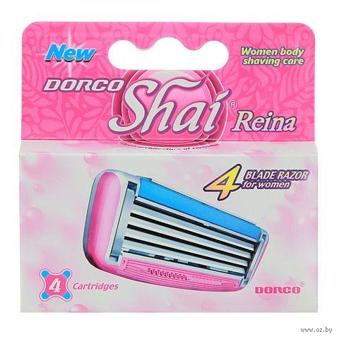 """Кассеты для станка """"Shai Reina"""" (4 шт.) — фото, картинка"""