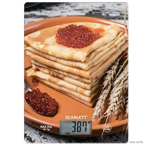 Кухонные весы Scarlett SC-KS57P45 — фото, картинка