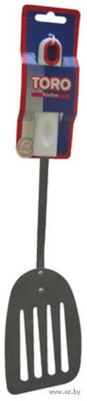 Лопатка кухонная металлическая (340 мм; арт. 260084) — фото, картинка
