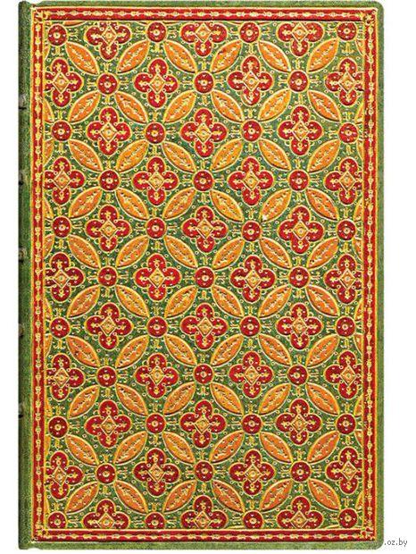 "Записная книжка Paperblanks ""Мозаика"" в линейку (формат: 100*140 мм, мини)"