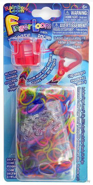"""Набор для плетения из резиночек """"Finger Loom. Красный"""""""