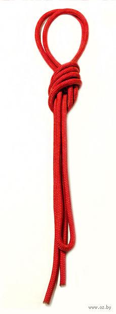 Скакалка для художественной гимнастики Pro 10101 (красная) — фото, картинка