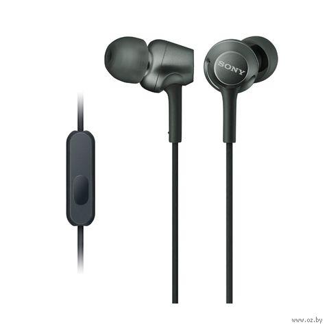 Наушники Sony MDR-EX255APB (черные) — фото, картинка