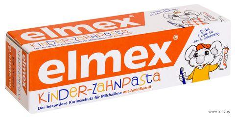 """Зубная паста детская """"Elmex"""" (50 мл) — фото, картинка"""
