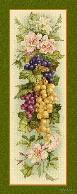 """Алмазная вышивка-мозаика """"Прованс виноград"""" (900х350 мм) — фото, картинка"""