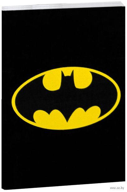 "Блокнот белый ""Бетмен"" А7 (047)"