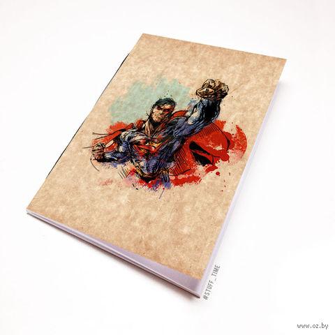 """Блокнот крафт """"Супермен"""" А6 (880)"""