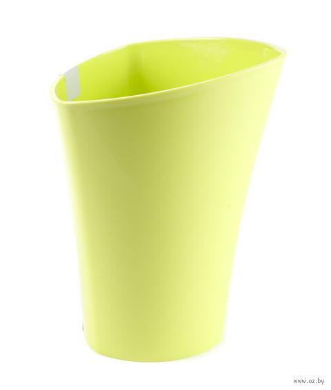 """Кашпо """"Wenus"""" (14 см; лимонное) — фото, картинка"""