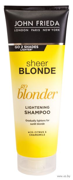 """Шампунь для волос """"Go Blonder. Осветляющий"""" (250 мл) — фото, картинка"""