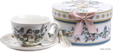 Чашка с блюдцем (арт. R2003T1-D326) — фото, картинка