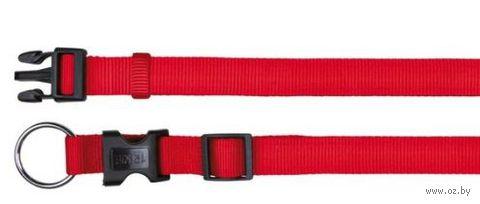 """Ошейник нейлоновый для собак """"Classic"""" (размер S-M, 30-45 см, красный, арт. 14213)"""