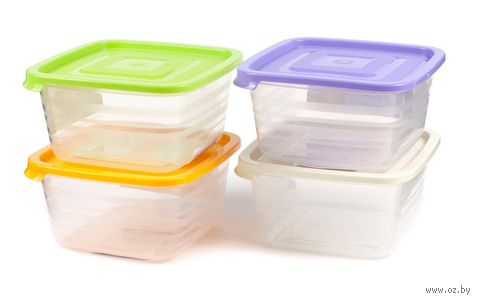 """Контейнер для продуктов пластмассовый """"Унико"""" (1,4 л; арт. С210)"""