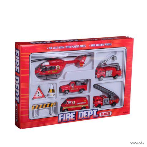 """Игровой набор """"Пожарная команда Fire Dept"""""""