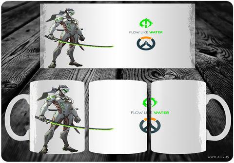 """Кружка """"Overwatch"""" (арт. 28) — фото, картинка"""