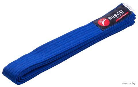 Пояс для единоборств (280 см; синий) — фото, картинка