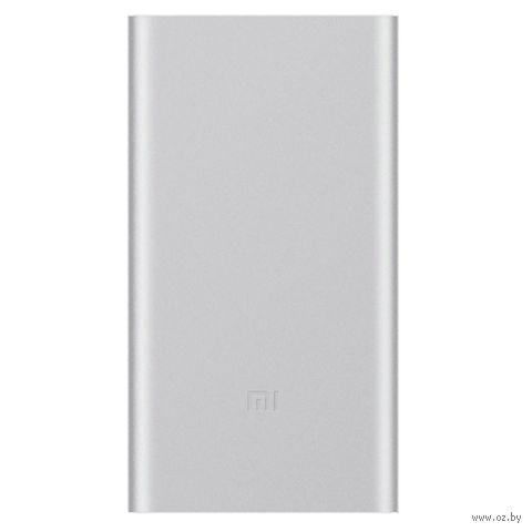Портативное зарядное устройство Xiaomi Mi Power Bank 2 (серебрянный) (USB 2.4A, 10000mAh) — фото, картинка