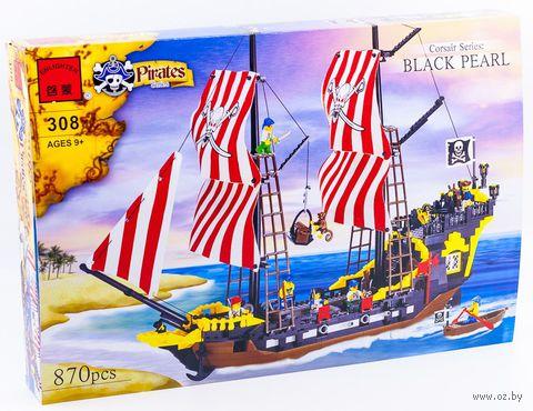 """Конструктор """"Пираты. Черная жемчужина"""" (870 деталей)"""