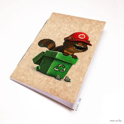 """Блокнот крафт """"Марио"""" А7 (958)"""
