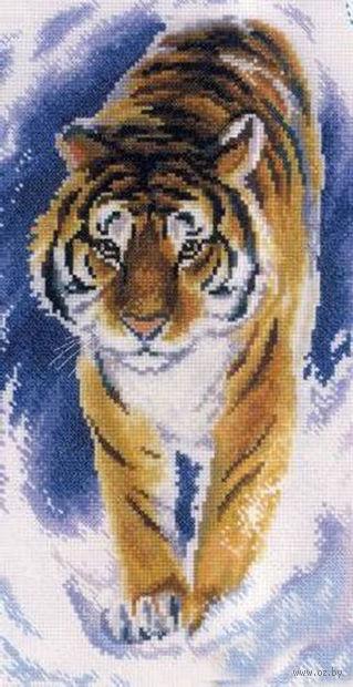 """Вышивка крестом """"Грациозный тигр"""""""