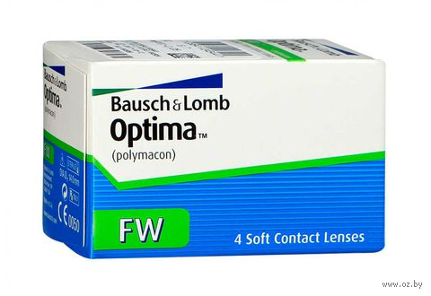"Контактные линзы ""Optima FW"" (1 линза; -8,0 дптр; 8,4 мм) — фото, картинка"