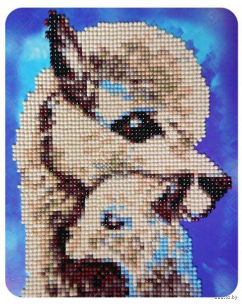 "Алмазная вышивка-мозаика ""Мама и дитя"" (170х210 мм) — фото, картинка"