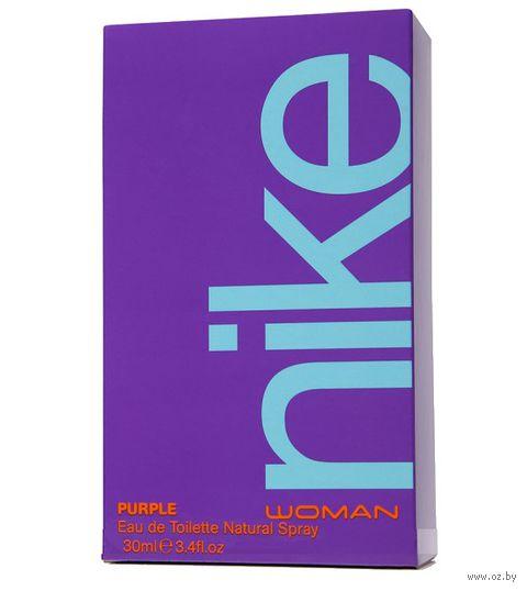"Туалетная вода для женщин ""Nike. Purple"" (30 мл)"