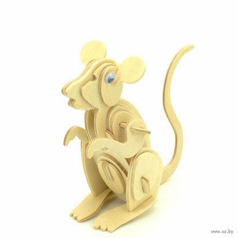 """Сборная деревянная модель """"Мышь"""" — фото, картинка"""