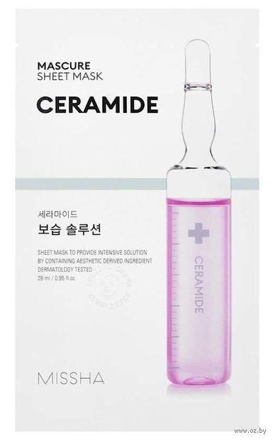 "Тканевая маска для лица ""Ceramide"" (28 мл) — фото, картинка"