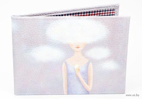 """Обложка на зачётную книжку """"Облака"""" — фото, картинка"""